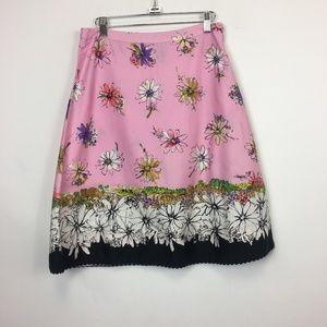Elevenses Antho Garden City A Line Skirt